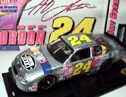 2000 Dupont Clear Window 1/24 Jeff Gordon #24