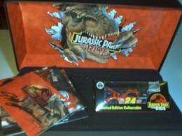 Jurassic Park Car and Card Set