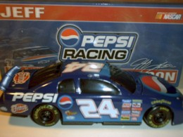 Pepsi 1999 Monte Carlo Dark Window Car by Action 1/24
