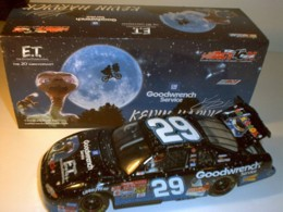 Harvick, Kevin #29 ET 2002 Clear Window Chevy 1/24 Action