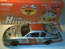 Harvick, Kevin #29 TAZ 1/24 Action 2001 Clear Window