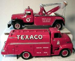 Matching Production #'s Tow Truck and Fuel Truck