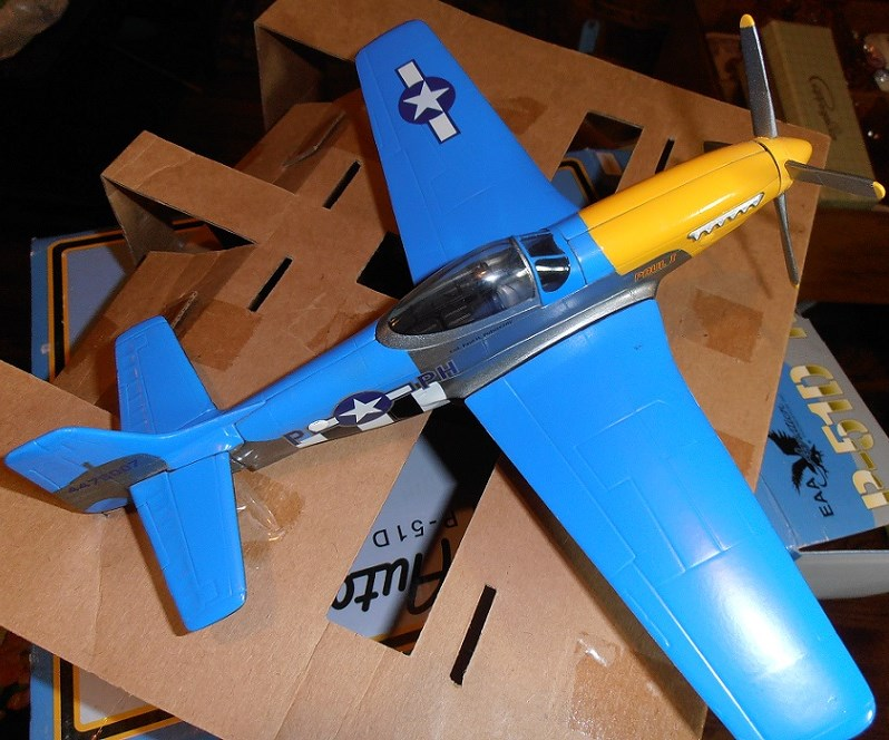 "P-51D ""Paul I"" from EAA by Spec Cast (304000)"