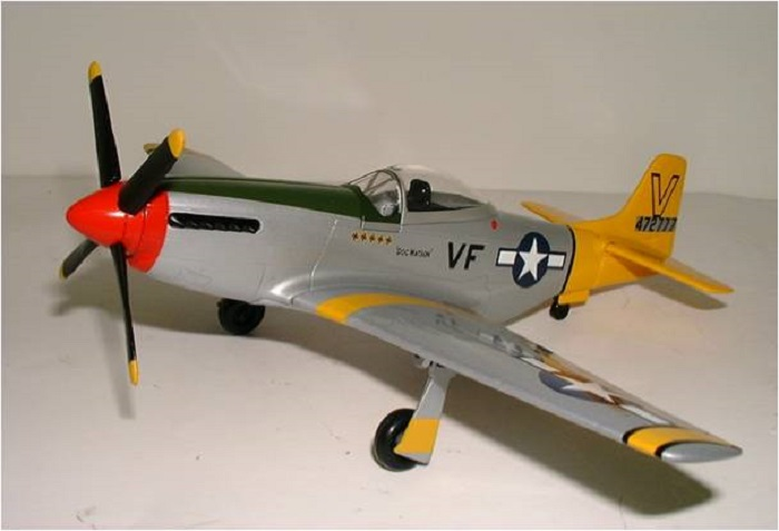 P-51D US Army Air Corp 15th Air Force Spec Cast SC-47024
