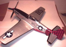 P-51 Tiger Spirit #2 Exxon by Spec Cast 47027