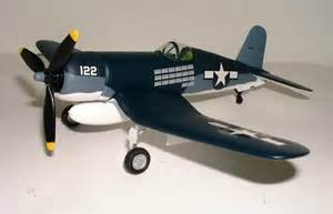 "F4U Corsair USMC ""No. 122"" Spec Cast # 47509 100 Mission"