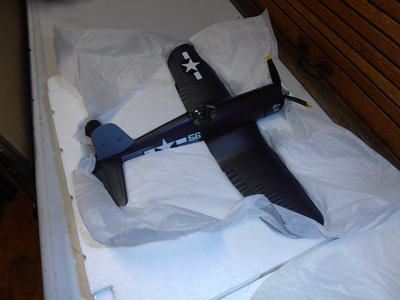 "F4U Corsair ""Sunsetter"" by Spec Cast 1/48 scale 47515"