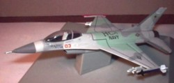 "F-16 US Nany ""Top Gun"" 1/100 scale (5012)"