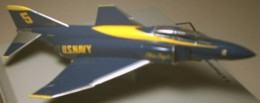 F-4 Phantom Blue Angles 1/100 scale (5041)