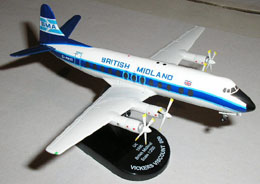 Vicker Viscount 800 'British Midland' (1:200) (5818)