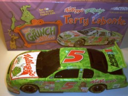Labonte,Terry #5 Kellogg's Grinch 1/24 Dark Window Action