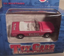 Toy Cars 1965 Mustang