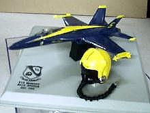 F-18 Blue Angles with Helmet 1/100 scale (7005)