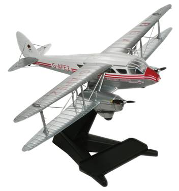 De Havilland DH.89A Dragon Rapide 1/72 Die Cast (72DR001)