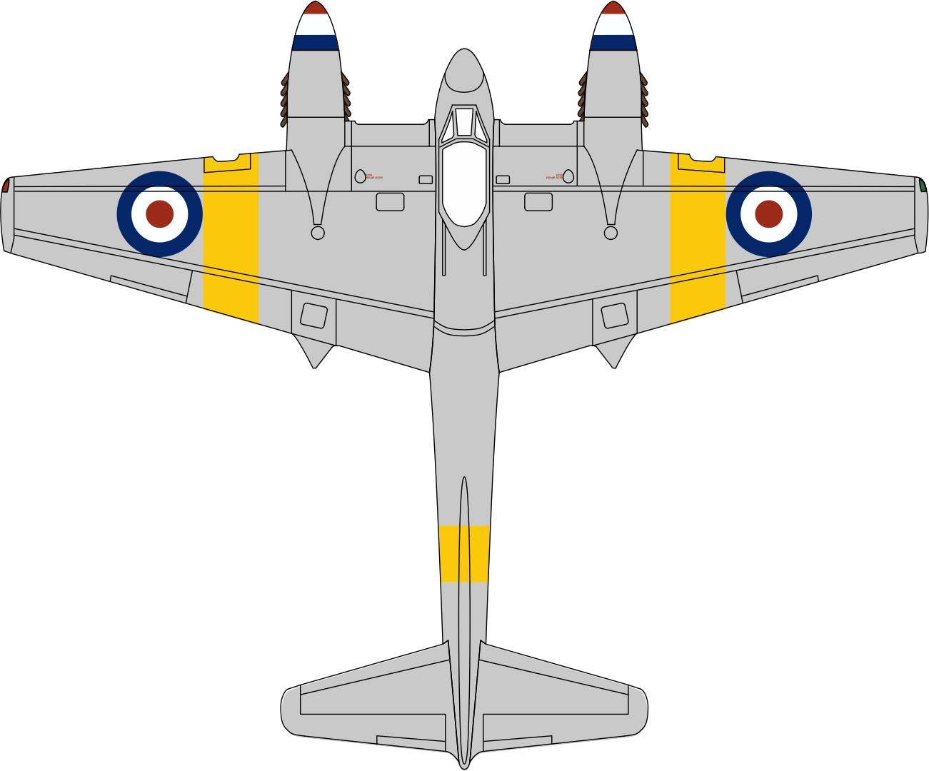 De Havilland DH.103 Hornet 1955 1/72 scale (72HOR001)