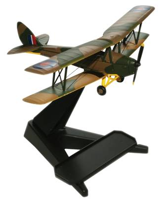 De Havilland DH.82A Tiger Moth 1/72 Die Cast (72TM001)