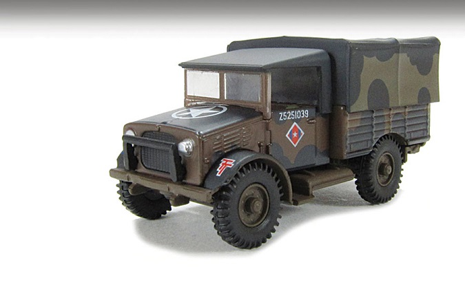 "Bedford MWD Truck British Army ""Mickey Mouse"" (76MWD001)"