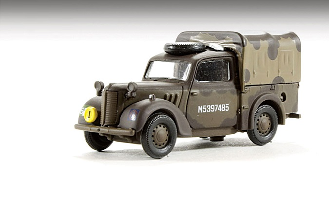 "Austin Light Utility Truck ""Tilly"" (76TIL002)"