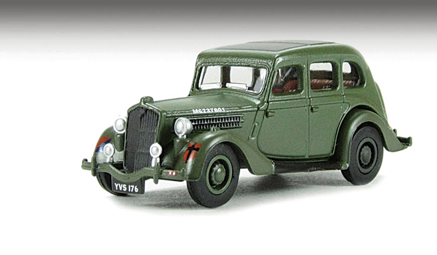 Wolseley 18 / 85 British Army 1/76 scale 76WO0002