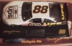 Jarrett, Dale #88 UPS Darlington Win Clear Window 1/24 Revel