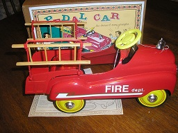 Pedal Car Hook & Ladder Fire Truck by Zonex 1/2 scale