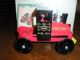 "Hallmark 1961 Garton ""Casey Jones Locomotive"" Pedal Car"
