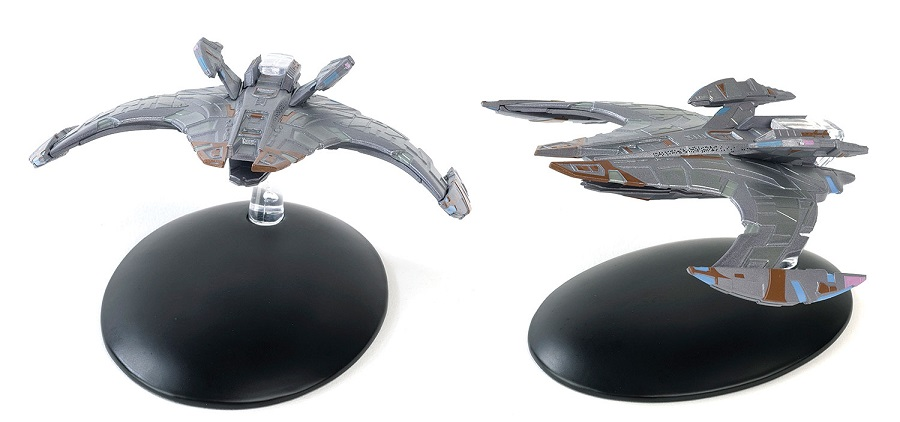 JEM'HADAR BATTLE CRUISER (EM-ST0013) by EagleMoss