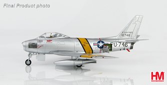 F-86E Sabre FU-746, 25th FIS/51st FIW, October 1951; HA4315