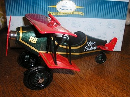 Hallmark 1930 Spirit of Christmas Custom Biplane