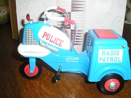 Hallmark 1958 Murry Police Cycle Pedal Car