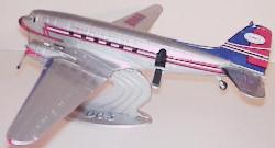 Humble DC-3 with stand by Ertl 1/72 scale