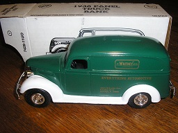 J. C. Whitney 1938 Ford Panel 5nd in Series by Ertl #B095