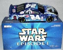 """Star Wars"" 1999 Monte Carlo clear window car Jeff Gordon"