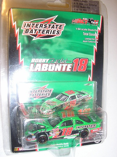 Labonte, Bobby #18 Interstate Batteries '02 Pont 1/64 TC Action