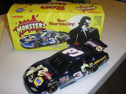 Hornaday, Ron #3 NAPA / Dracula (Earnhardt owned) 1/24 Action