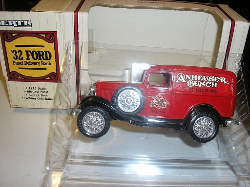 Anheuser Busch 1932 Ford panel Delivery with Eagle on the door