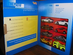 Then & Now Hot Wheel Collection by Target