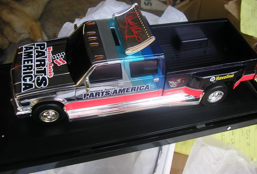 Waltrip, Darrell #17 Parts America Chrome 1997 Chevy Dually
