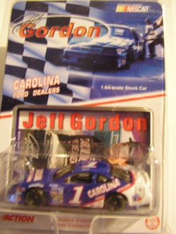 1991 Ford #1 Carolina Ford Dealers 1/64 Jeff Gordon