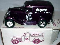 Grapette Soda #1 1932 Ford Panel