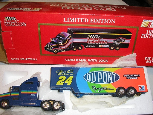 "1993 Gordon #24 ""Rookie of the Year"" Kenworth and Hauler"