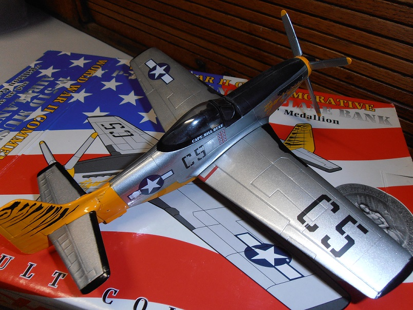 P-51 D Mustang flown by Capt Bill Rule 1/48 scale by Spec Cast