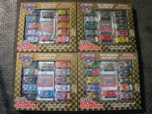 50th Anniversary Collectors Set (1-4) 1/64 Racing Champion