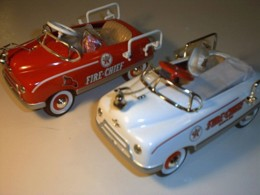 First in Series #1 Matching Numbers Pedal Car Set