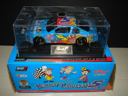 Labonte,Terry #5 Kellogg's Rice Krispies Treats 1/24 Revel