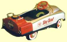 Texaco #2 Pedal Car With Workings Lights.